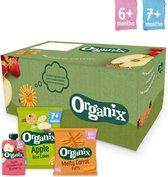Organix Baby Snack Box - Vanaf 6 maanden - Biologisch - 24 stuks - Baby...