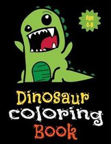 DINOSAUR Coloring Books Ages 4-8