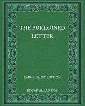 The Purloined Letter - Large Print Edition