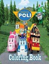 Robocar Poli Coloring Book