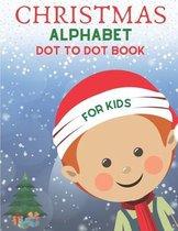 Christmas Alphabet Dot to Dot Book for Kids