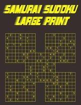 Samurai Sudoku Large Print