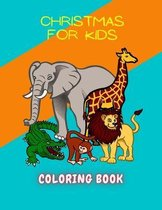 Christmas For Kids Coloring book