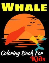 Whale Coloring Book For Kids