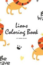 Lions Coloring Book for Children (6x9 Coloring Book / Activity Book)