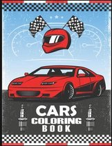 Cars Coloring Book for Kids and Adults
