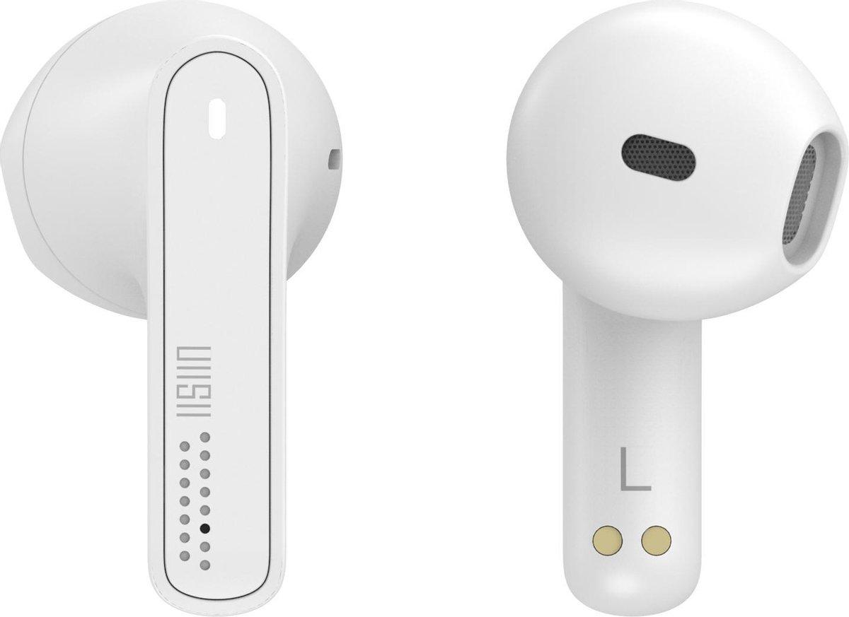 UiiSii TWS21 – Mini Draadloze Oordopjes – Earbuds –  Geschikt voor Apple iPhone & Samsung / Android – Wit