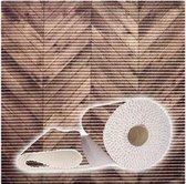 Antislipmat Houten Vloer Vlonders - 65x50cm antislip bad