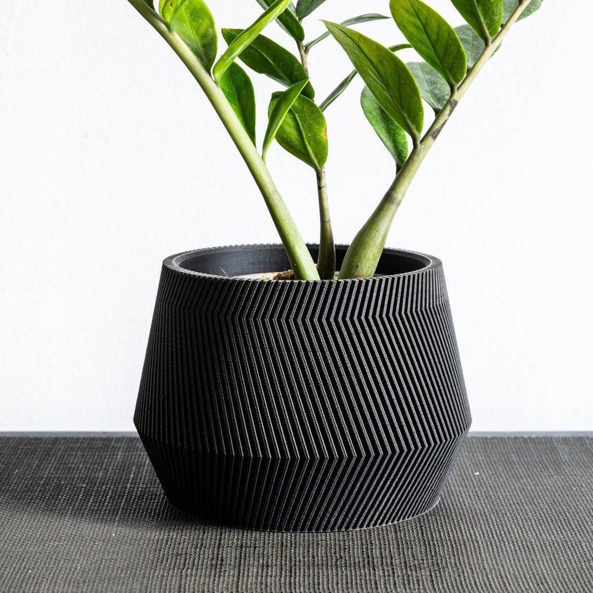 Angel Groovi Luxe Bloempot Ø15cm - Handgemaakt - Modern design - Plantenpot voor binnen en buiten -