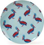 Fabienne Chapot set 2 serving plates 'pelican' 32cm