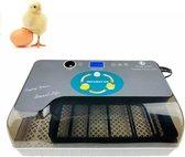 Slimme Broedmachine voor eieren - automatische rolsysteem met geïntegreerd schouwlamp -