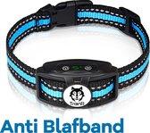 TrainR Anti Blafband - Diervriendelijk - Anti Blaf Apparaat - Blauw - Anti Blaf - Halsband - Hond - Blafband - Trainingshalsband