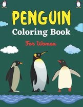 PENGUIN Coloring Book For Women
