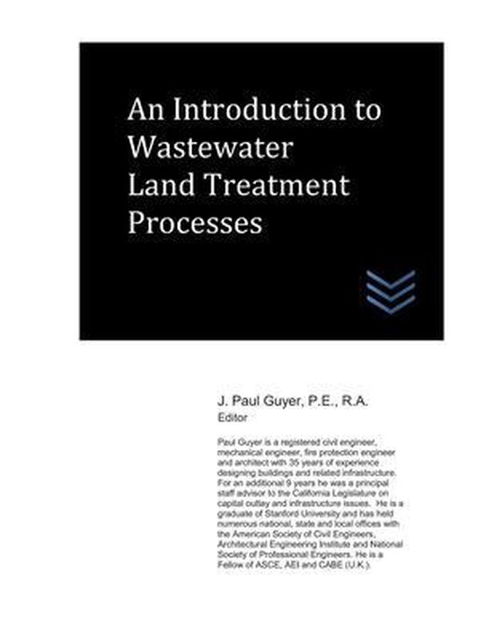 An Introduction to Wastewater Land Treatment Processes