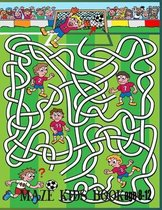 Maze kids Book Age 8-12