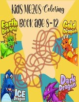Kids mazes Coloring Book Age 8-12
