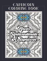 Capricorn Coloring Book