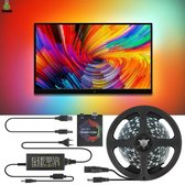 LED TV Strip Licht - tiktok - verlichting - armatuur - ambilight - usb - mooi - prachtig - effect - bioscoop - 4m - tv - laptop - rgb
