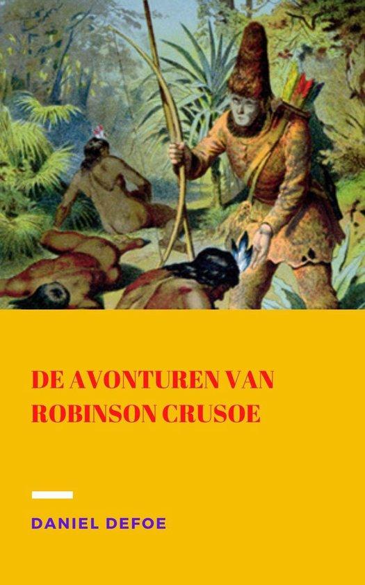 Boek cover De avonturen van Robinson Crusoe van Daniël Defoe (Onbekend)