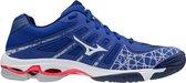 Mizuno Sportschoenen - Maat 42.5 - Mannen - blauw/wit/roze