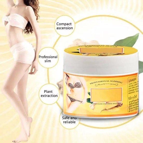 Gember Vetverbranding Créme - Anti Cellulite Full Body - Afslanken Gewichtsverlies