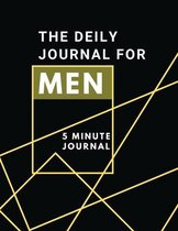 The Daily Journal For Men 5 Minutes Journal