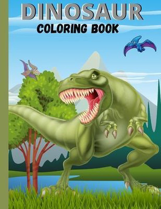 DINOSAUR Coloring Book