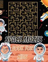 Space Mazes Book For Kids