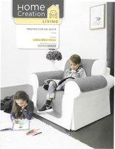 Stoel Beschermer - 1 zit - Stoel Zetel hoes - fauteuil Beschermer - Bankhoes - 165 x 179 CM - Beige