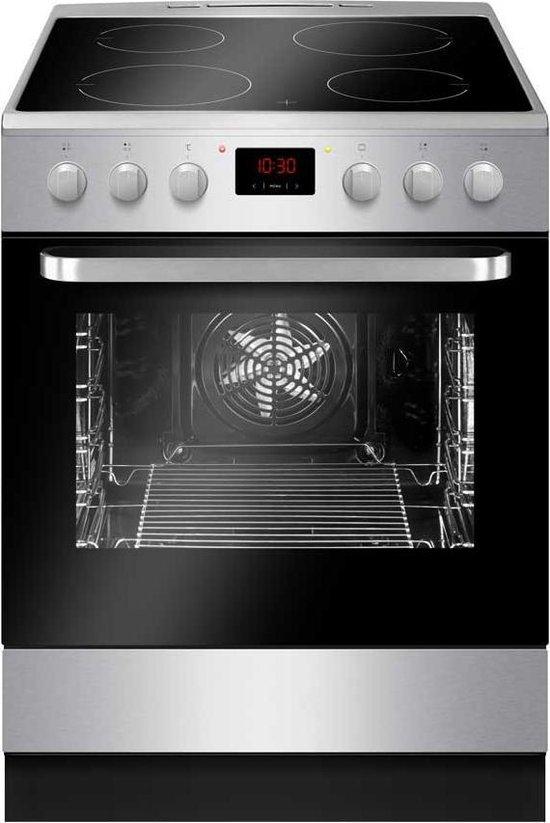 Amica ACI3504X - Kookfornuis Inductie - Inox - oven met Grill XL 65L