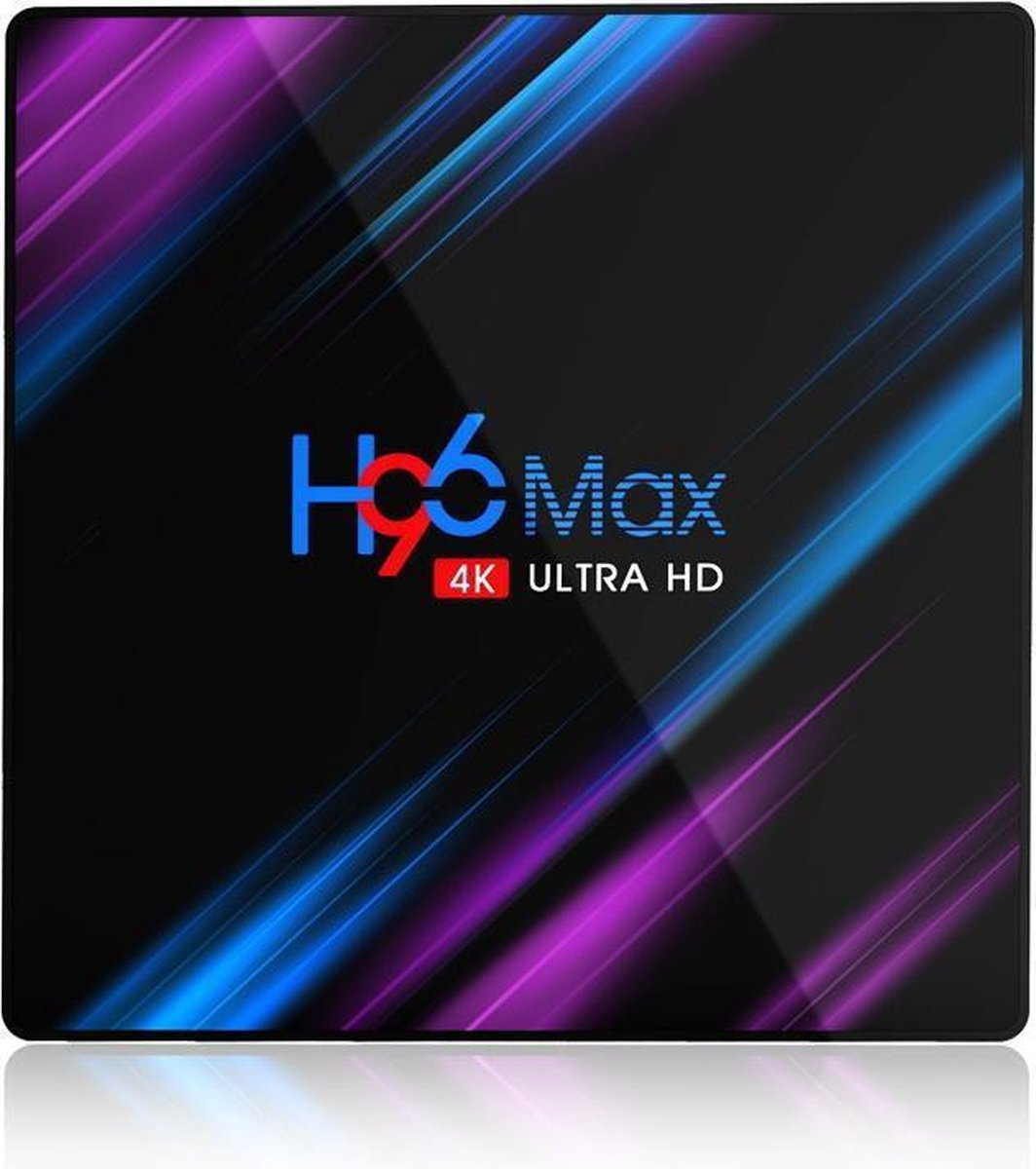 H96 Max 4K Ultra HD, 2/16GB, Android 10, media TV streaming box