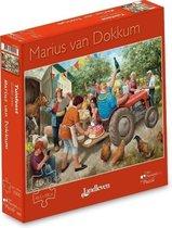 Marius van Dokkum Puzzel - Tuinfeest - 1000st.