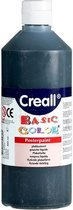 Creall plakkaatverf Basic Color 500ml - Zwart
