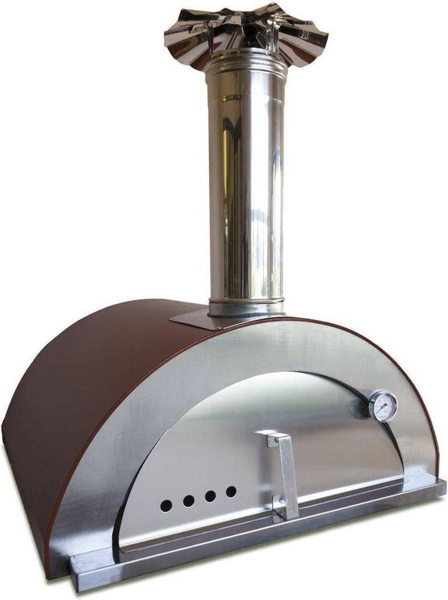 "Professionele Pizzaoven Gas ""Nonno Peppe"" | Pizzaovens | Pizza Oven | Pizzasteen | Pizzasnijder | Pizzaschep | Steengrill | Stoofpot | Koken & Bakken | Kookplaat | Keuken | Keukengerei | Italiaans | Buitenkeuken |"