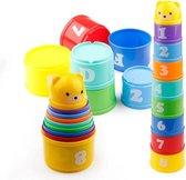 Kids Fun - Stapelbekers - Stapeltoren - Badspeelgoed - 9-Delig