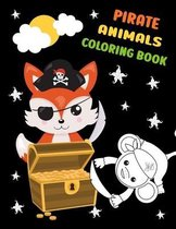 Pirate Animals Coloring Book