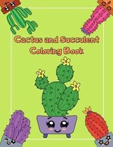 Cactus And Succulent Coloring Book
