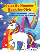 Color By Number Book for Girls