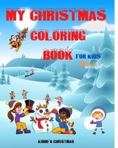 My Christmas Coloring Book For Kids