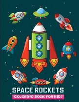 space rockets coloring book for kids