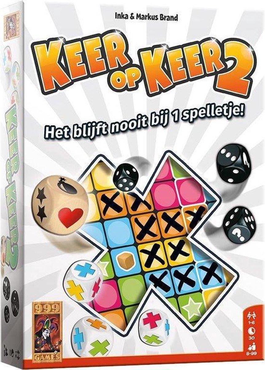 Keer op Keer 2 - Dobbelspel - 999 Games
