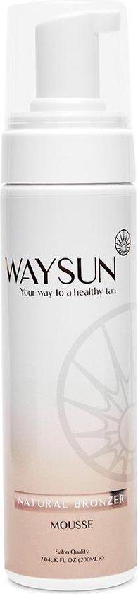 Waysun® Natural Bronzer Zelfbruiner - 200 ML - Lichaam en Gezicht