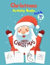Christmas Activity Books For Kids Ages 2-4