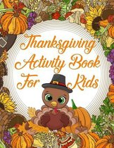 Thanksgiving Activity Book For Kids