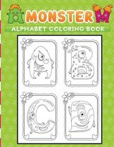monster alphabet coloring book