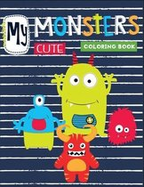my cute monster coloring book