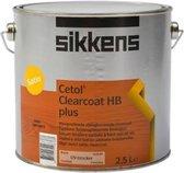 Sikkens Cetol Clearcoat HB Plus Kleurloos 1L - Mahonie