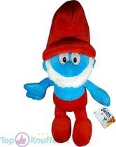 De Smurfen Pluche Knuffel Grote Smurf 30 cm | The Smurfs Plush Peluche Toy | Smurfen knuffelpop speelgoed voor kinderen