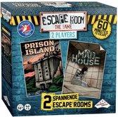 ESCAPE ROOM THE GAME - 2 PLAYER EDITIE - Prison island/Mad house - IDENTITY GAMES - Winnaar 2019 speelgoed van het jaar