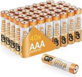 GP Ultra Alkaline AAA batterijen - Mega Voordeelpak - 40 stuks ( LR03 - Potlood - Micro batterij )